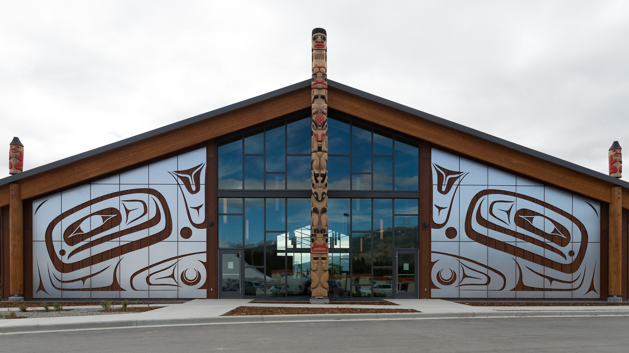 Carcross/Tagish First Nation Learning Center (Photo: Alistair Maitland)