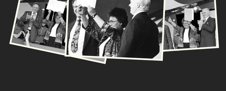 Signing of the Yukon Umbrella Final Agreement