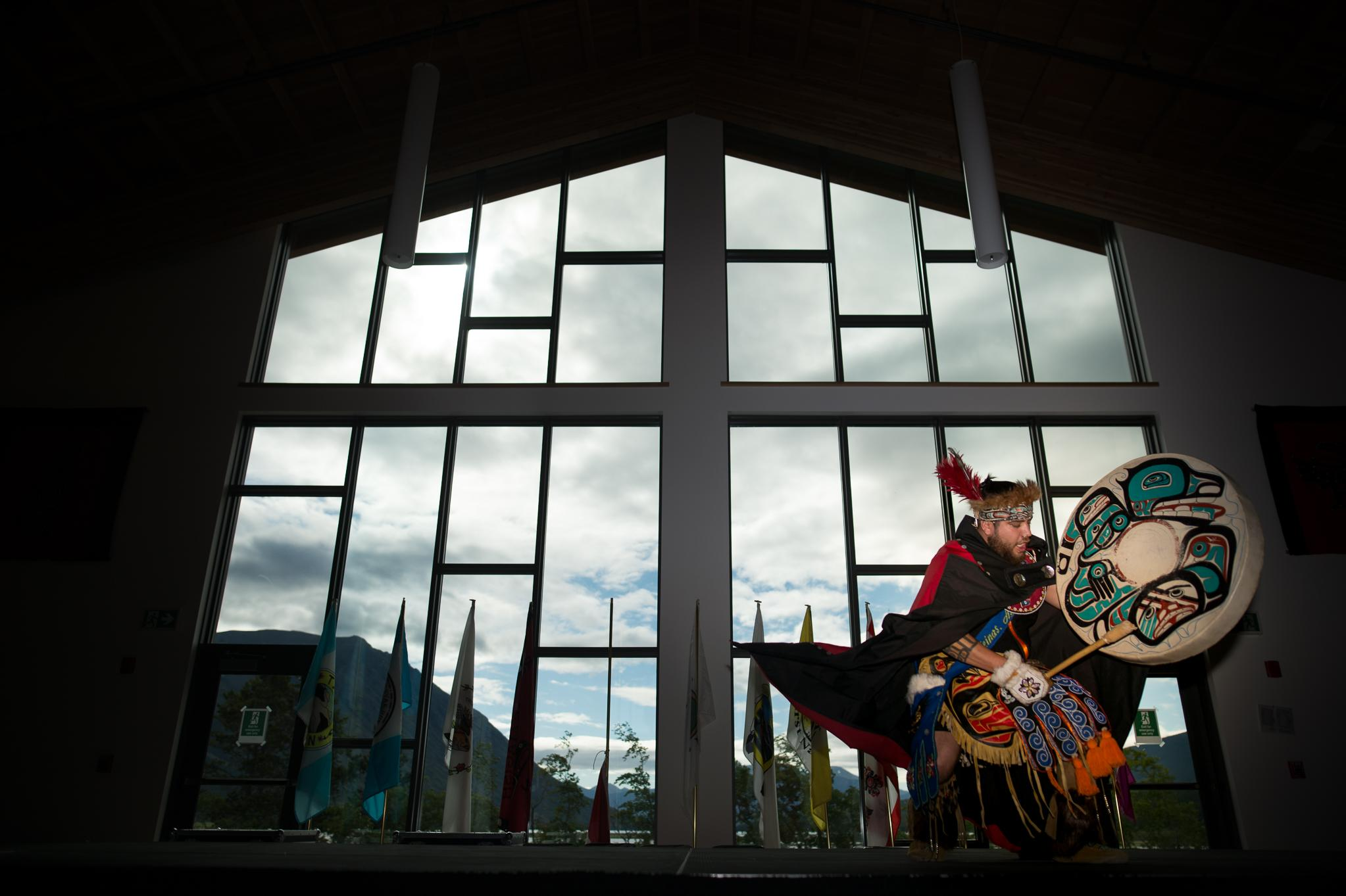 The Carcross/Tagish First Nation learning center Photo:Alistair Maitland