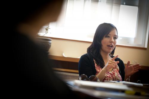 """Former First Nations Governance and Public Administration student Cynthia James says about governance in Yukon, """"we are making history every day because there are no other governance processes like it."""" (Photo: archbould.com)"""