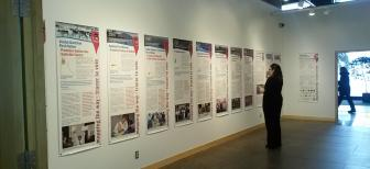 Exhibit on Yukon land claims and self-government